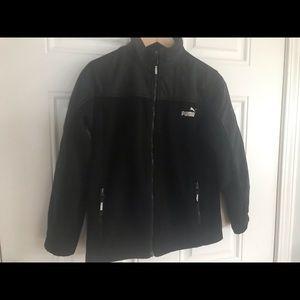 Boys size M Used Puma Fleece Jacket